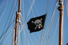 海盗旗 库存图片
