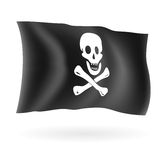 海盗旗 免版税库存图片