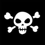 海盗旗 免版税库存照片