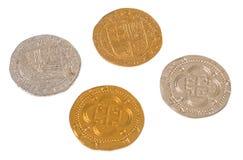 海盗硬币 库存图片