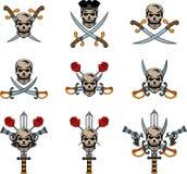 海盗象征 免版税库存照片