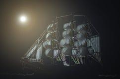 海盗鬼魂船 免版税图库摄影