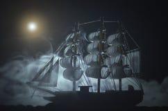 海盗鬼魂船 免版税库存照片