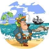 海盗 库存图片