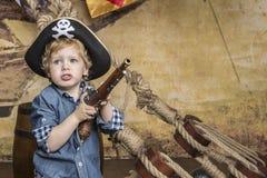 年轻海盗 免版税图库摄影