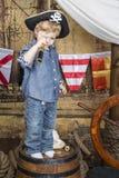 年轻海盗 库存图片
