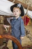 年轻海盗 免版税库存照片