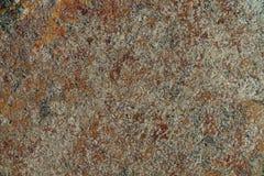 海石头纹理与铁锈的 免版税库存图片