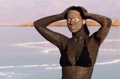 死海矿物-以色列 免版税库存图片