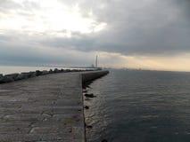 海码头 免版税库存图片