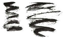 海绵油漆高细节摘要传染媒介背景&线设置了101 库存照片