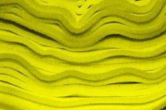 海绵黄色 库存照片