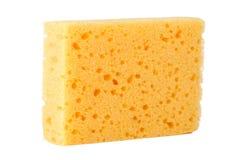 海绵黄色 库存图片