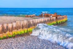 海老码头 免版税图库摄影