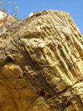 海腐蚀的岩石 库存图片