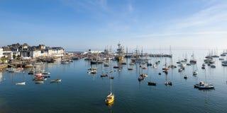 海节日在布里坦尼 免版税库存照片