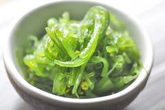 海草沙拉或Chuka Wakame 免版税库存图片