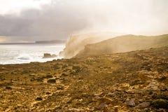 海薄雾 库存照片