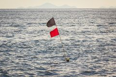 海表面挥动 库存照片