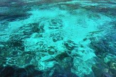 海表面的起波纹的样式 库存照片