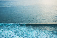 海表面视图 免版税图库摄影