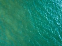 海表面鸟瞰图 免版税图库摄影