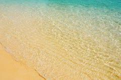 海表面 免版税库存照片
