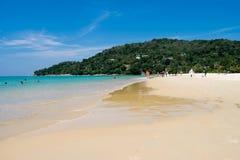 海视图夏天普吉岛泰国 图库摄影