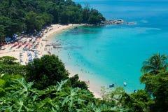 海视图夏天普吉岛泰国 库存图片