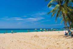 海视图夏天普吉岛泰国 免版税库存图片