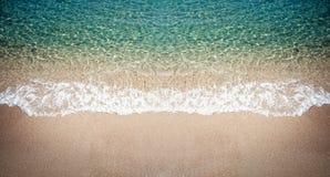 海视图,顶视图,惊人的自然背景 库存图片