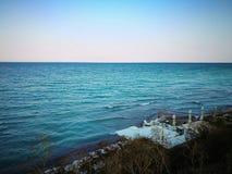 黑海视图 免版税库存图片