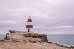 海角东贝方尖碑,长袍,南澳大利亚 库存照片