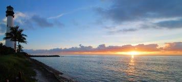海角佛罗里达全景 库存照片