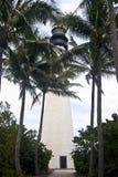 海角佛罗里达灯塔在比尔Baggs佛罗里达公园 库存图片
