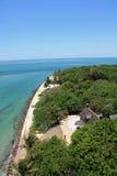 从海角佛罗里达灯塔的看法 免版税图库摄影