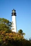 海角佛罗里达灯塔,迈阿密 免版税库存图片