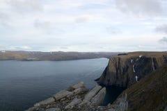 海角北部挪威 免版税库存图片