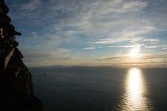 海角北部挪威 库存照片