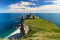 海角名义上四峭壁俄罗斯滨海边疆区 免版税库存图片