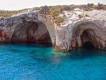海角在海运附近使greco陷下 库存图片