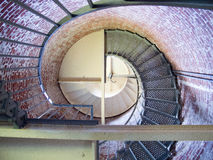 海角布兰科灯塔,内部 免版税图库摄影
