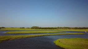 海角恐惧海岸沼泽Tidelands 免版税图库摄影