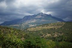 10海角海岛做山全景照片圣地亚哥谷verde 库存图片