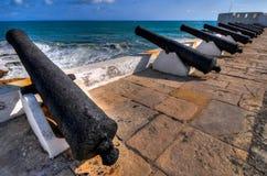 海角海岸城堡-加纳 库存图片