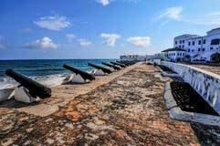 海角海岸城堡-加纳 免版税库存照片