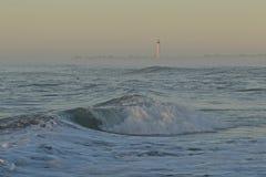 海角灯塔可以 库存图片