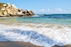 海角的海滩 库存图片