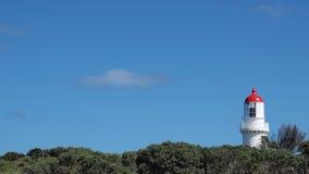 海角的Schanck灯塔 库存照片