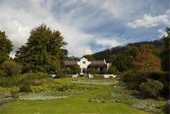 海角经典荷兰语农厂房子 库存照片